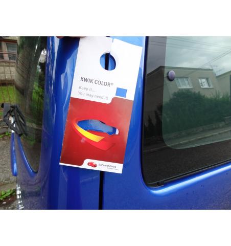 Sprej plnený autolakom+Akcia Kwik Color fólia zadarmo