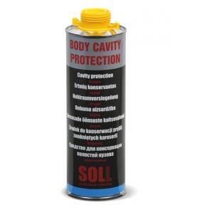 Ochranný nastrek do dutín Hnedý vosk SOLL