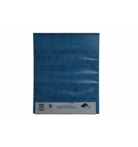 Brusivo hárok 230 x 280 mm papier / 50 ks