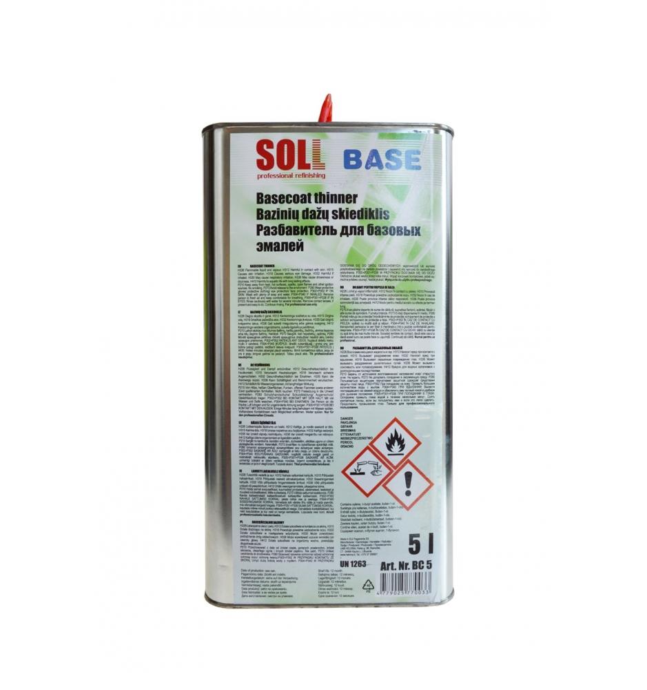 Bázové riedidlo uni SOLL 5L