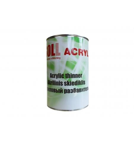 Acrylové uni riedidlo SOLL 1L