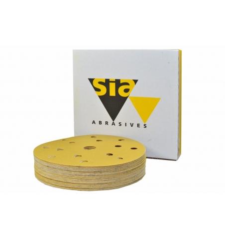 Brúsny papier SIA One 150mm na suchý zips 50ks