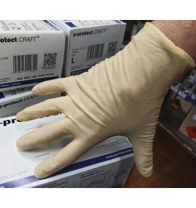 Rukavice latex P-Protect CRAFT-XL