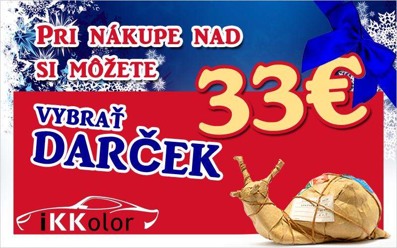 Darček nad 33 Euro